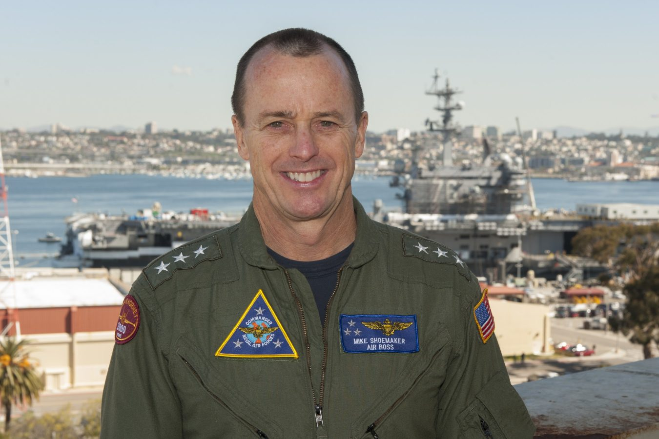 "Vice Admiral Mike ""Shoe"" Shoemaker"