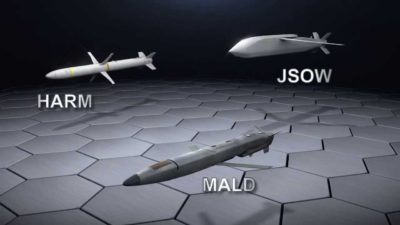 JSOW, MALD and HARM vs. The Advanced Threat